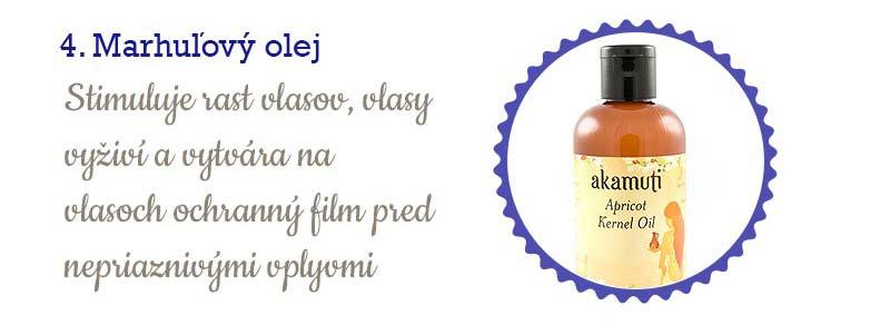 11 najlepších olejov na vlasy - marhuľový