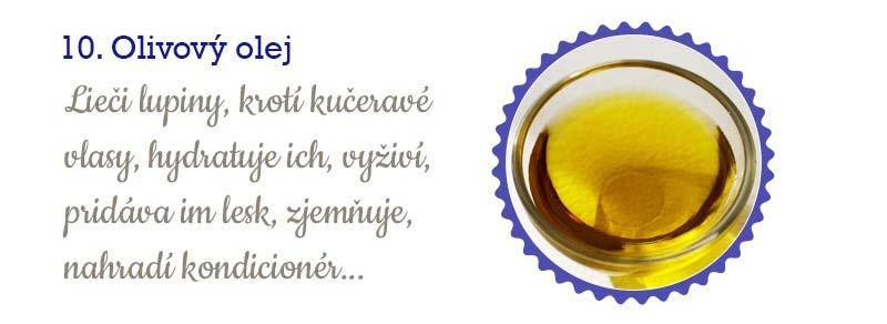 11 najlepších olejov na vlasy - olivový