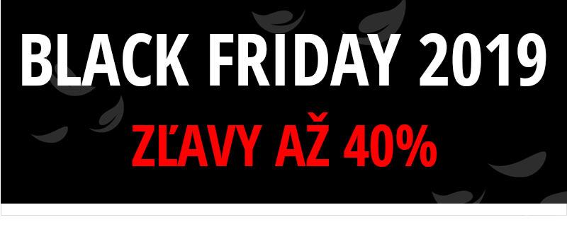 Black friday - zľavy od 40%