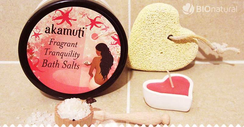 Kúpeľová soľ do kúpeľa Akamuti