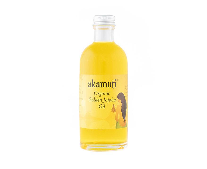 Akamuti Bio jojobový olej zlatý 100 ml