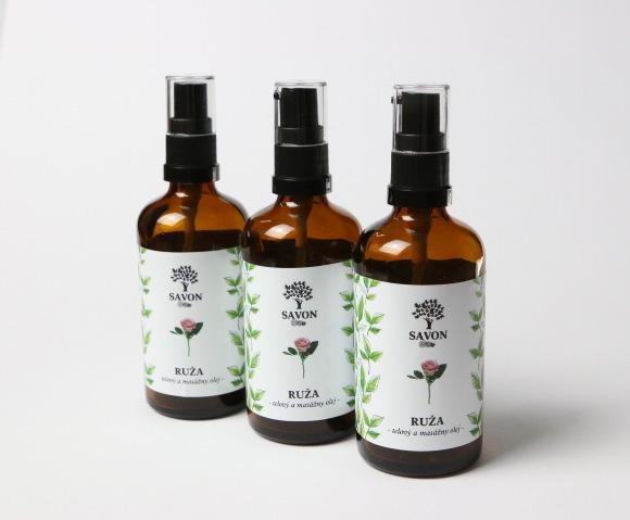 Savon Ruža - telový a masážny olej 100 ml