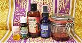 DIY olejové sérum proti jazvám, striám a popraskanej pokožke