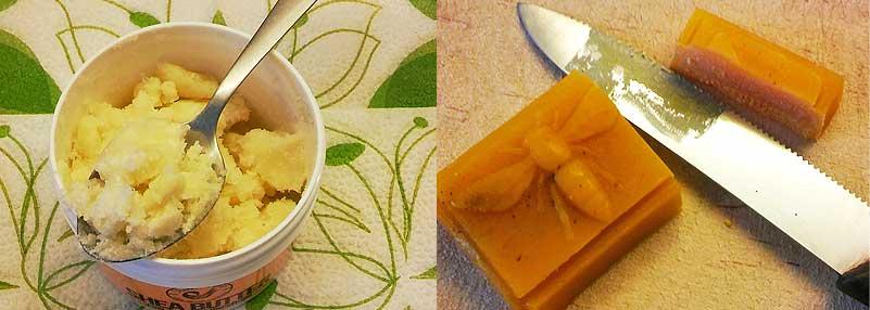 Dávkovanie bambuckého masla a včelieho vosku