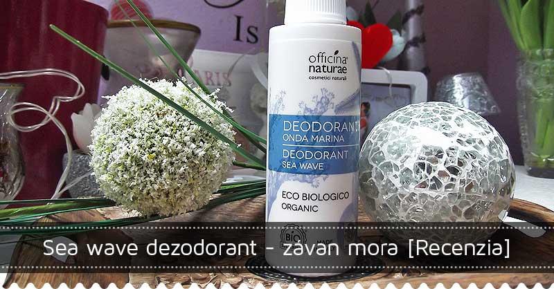 Sea wave dezodorant - závan mora [Recenzia]