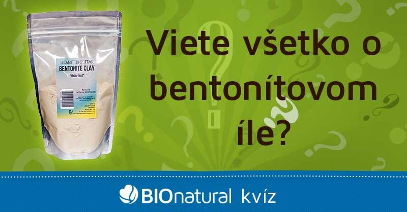 Kvíz - viete všetko o bentonítovom íle?