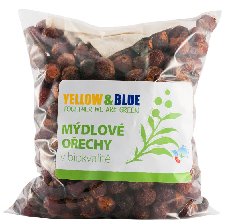 Yellow and Blue Mydlové orechy 1000 g
