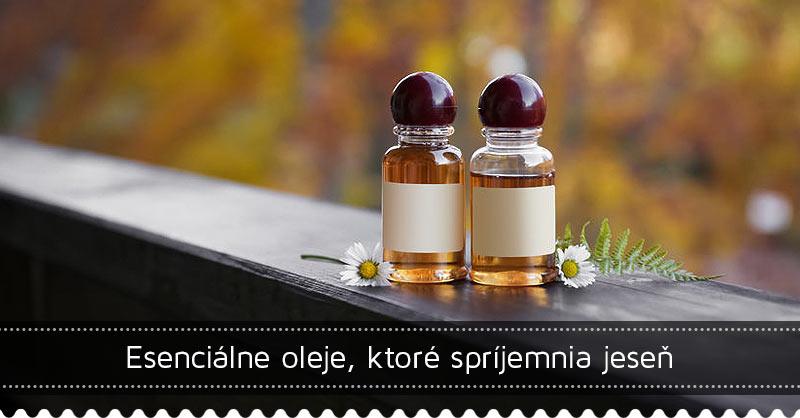 Esenciálne oleje, ktoré spríjemnia jeseň